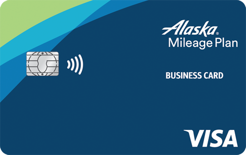 Alaska Airlines Business card