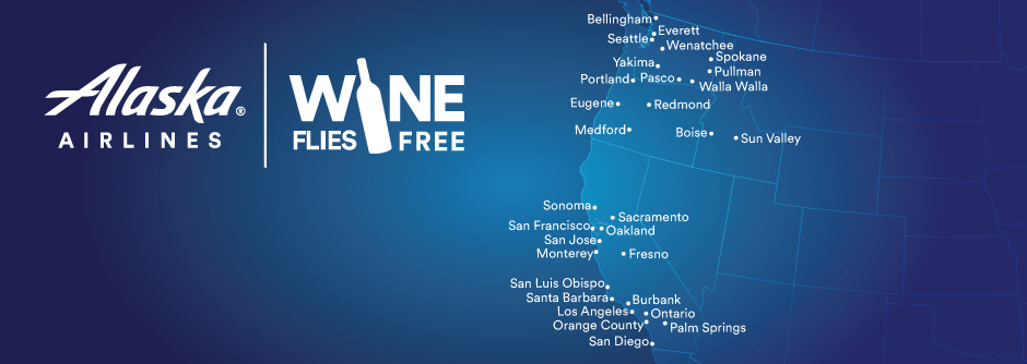 Wine Flies Free | Alaska Airlines