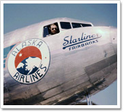 in 1943 star air lines operating as alaska star airlines purchased mirow air service pollack airlines lavery airways and alaska airmotive