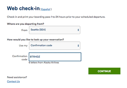 How To Use Online Check In