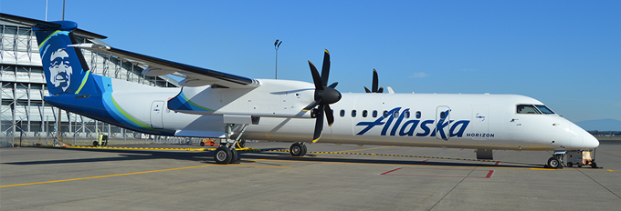 Bombardier Q400 Aircraft Information Alaska Airlines