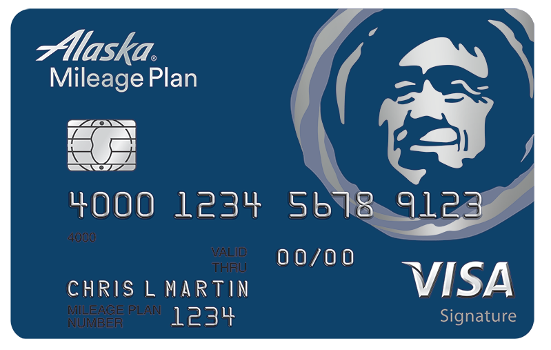 The Alaska Airlines Visa Signature Credit Card Alaska